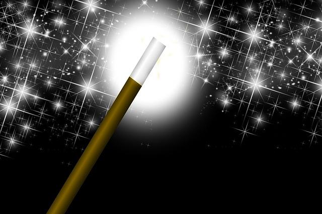 kouzelná hůlka
