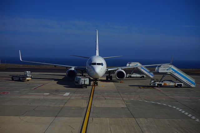 Letiště na jihu ostrova Tenerife