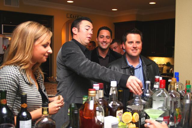 na baru si každý vybírá pálenku a alkohol takový, jaký mu bude chutnat