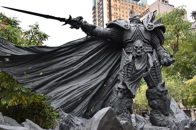 socha bojovníka