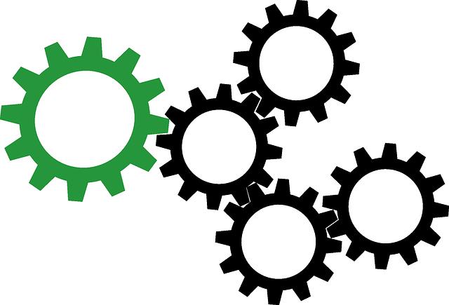ilustrace ozubených kol