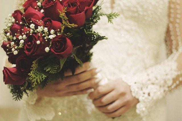 svatevní kytice